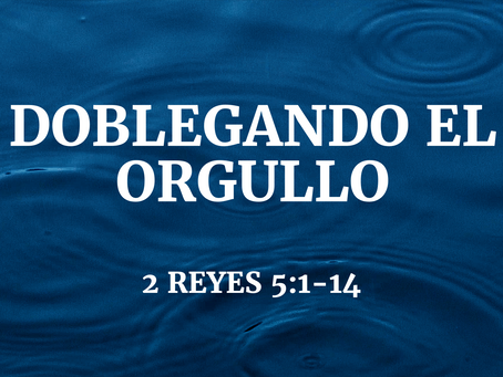 DOBLEGANDO EL ORGULLO