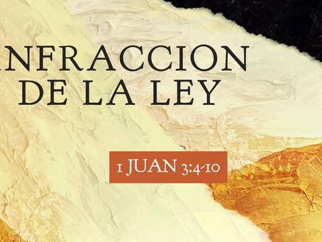 INFRACCION DE LA LEY