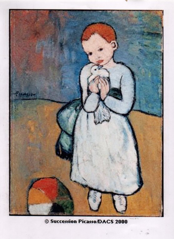 Picasso. Girl With A Dove.jpg