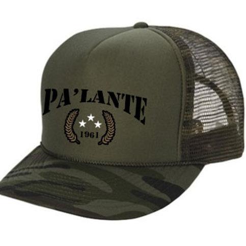 Green Pa'Lante Army Trucker