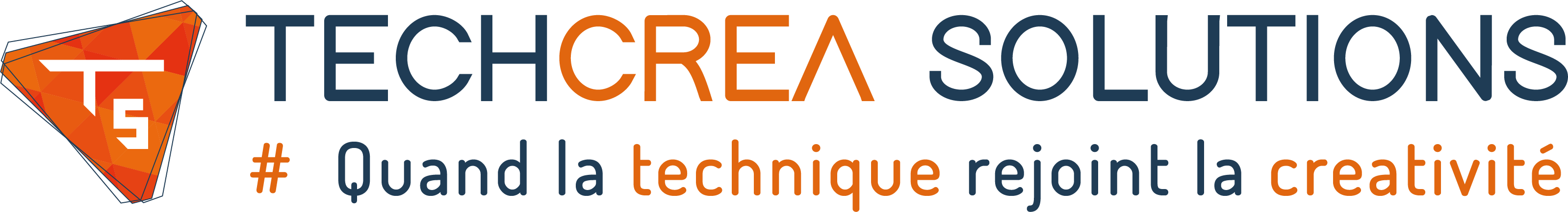 logo techcrea solutions