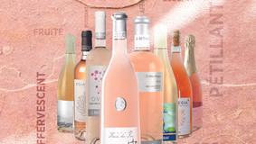La vie en Rose, collection de rosés Printemps-été 2021 avec J. Mourat, Egiategia et Rigaut.
