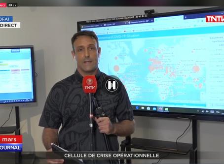 Covid19 : le MFC au coeur de la Cellule de crise à Tahiti