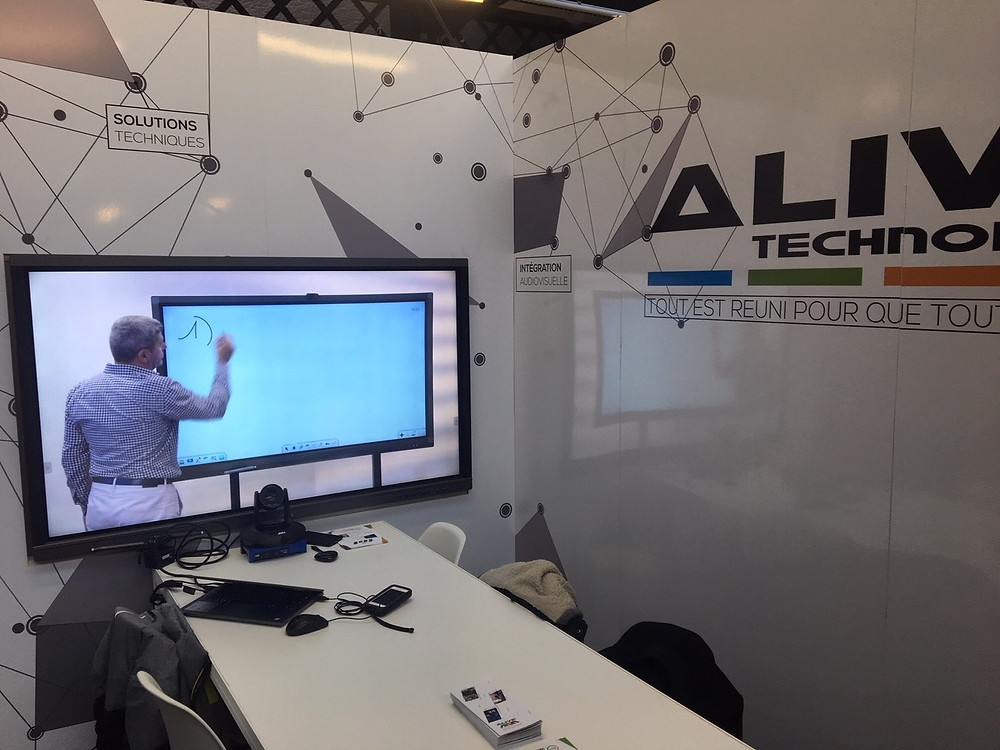 Ecran Interactif Csubtil présenté à Lille le 20 mars 2018