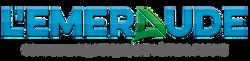 logo complexe aquatique emeraude