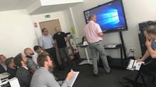 DBSM : L'écran interactif professionnel Csubtil sur la ville du Havre