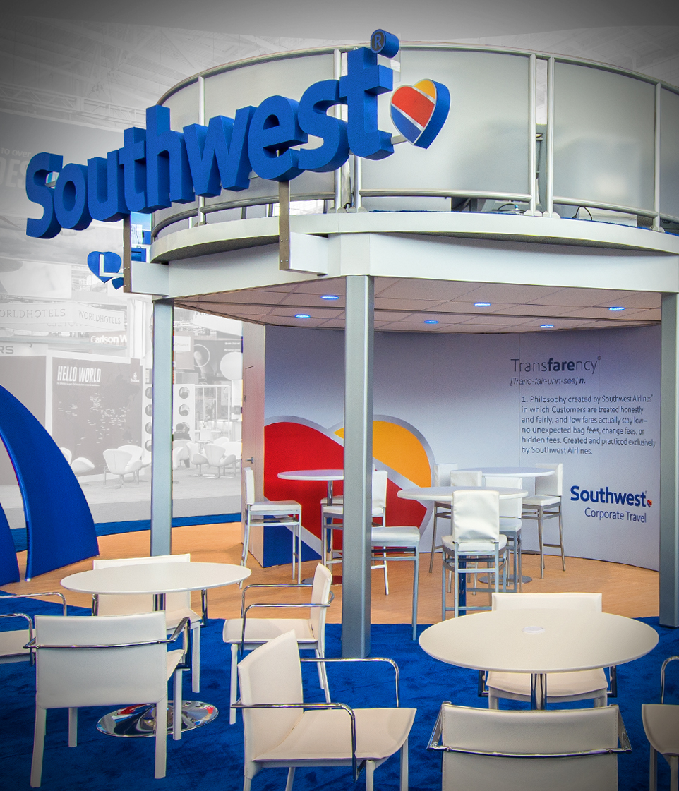 Southwest Airlines Trade Show Booth