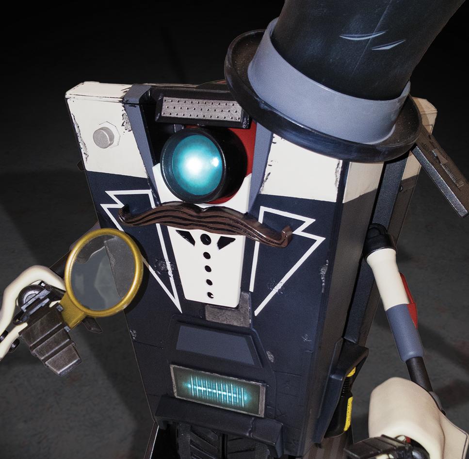 Gentleman Claptrap Robot