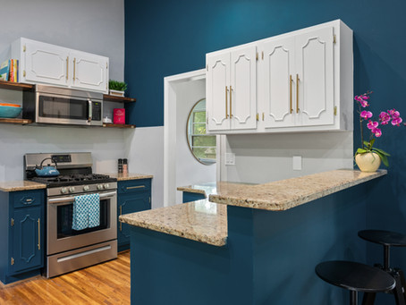 1950's Kitchen Reveal — Get The Look of New Cabinets with Old World Charm