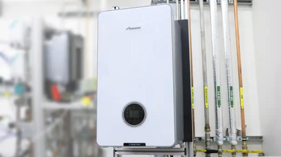 Worcester Bosch's hydrogen-fired boiler
