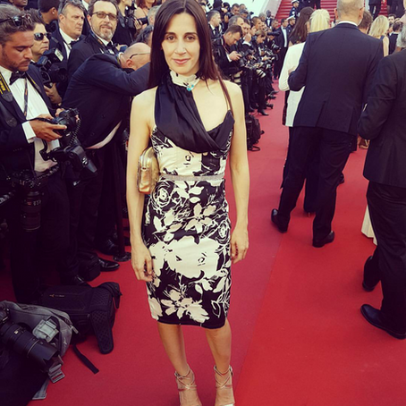 Sophie Venecia Reyes during the Cannes film festival