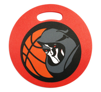 Werbesitzkissen Rund Basketball