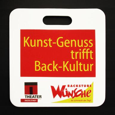 Werbesitzkissen Back-Kultur