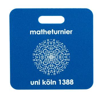 Werbesitzkissen Matheturnier