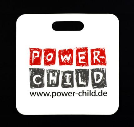 Werbesitzkissen Power Child
