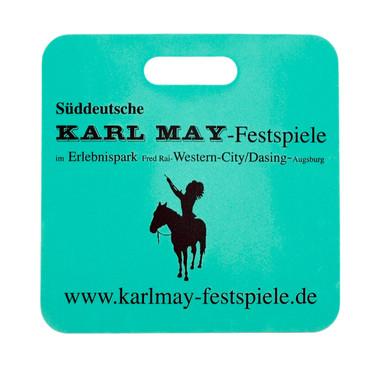 Werbesitzkissen Karl May Festspiele