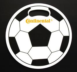 Werbesitzkissen Fussball