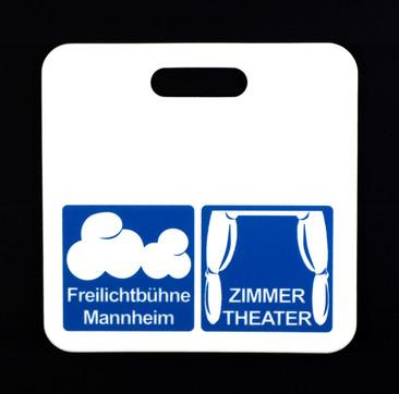 Werbesitzkissen Freilichtbühne Mannheim