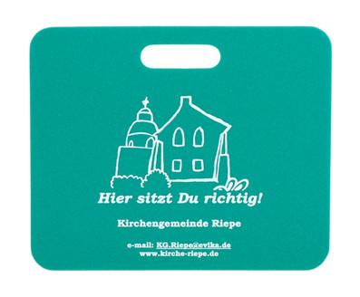 Werbesitzkissen Kirchengemeinde Riepe