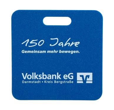 Werbesitzkissen Volksbank