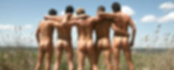 Mens butts in Fire Island