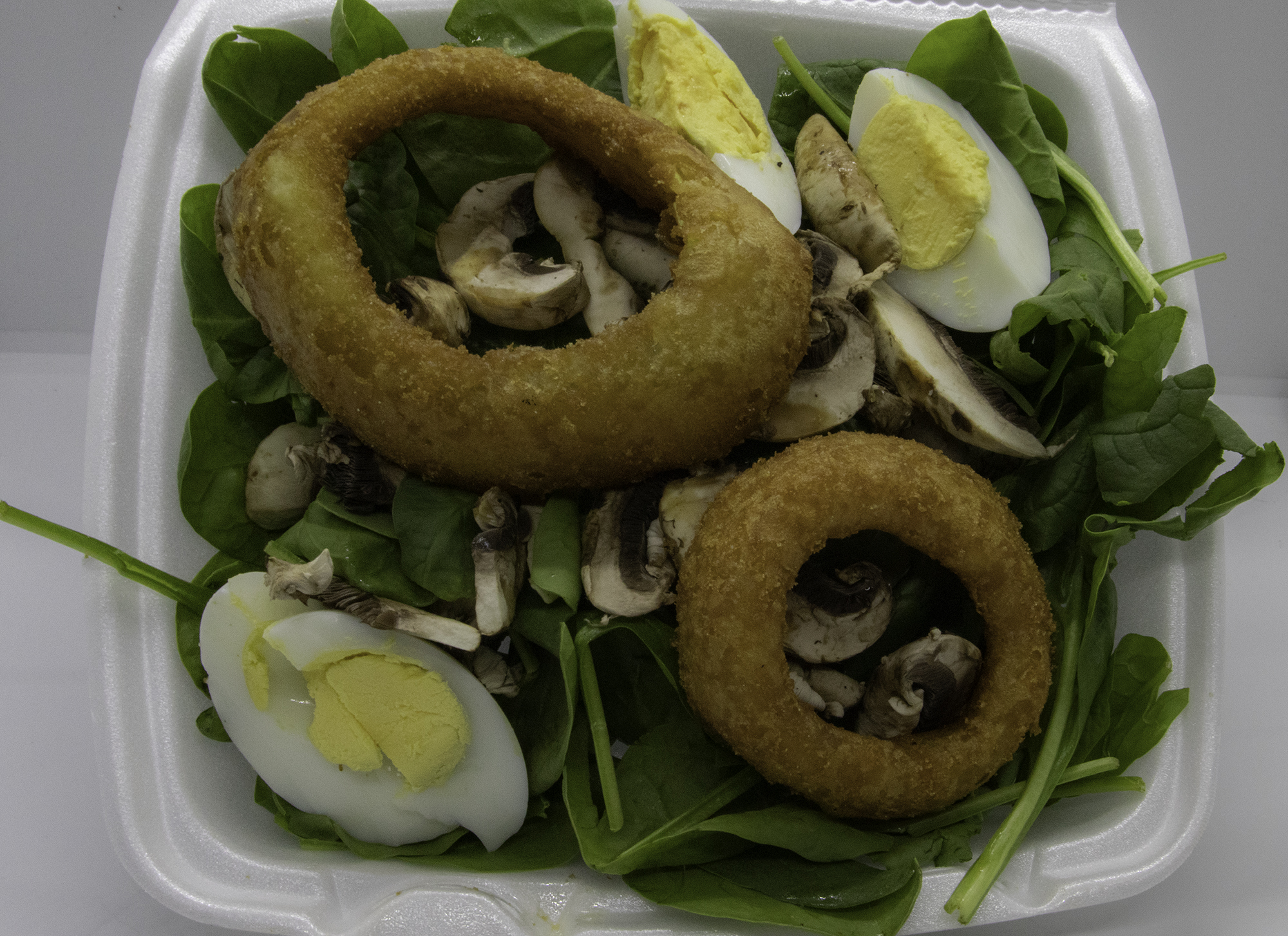 Back & Spinach Salad