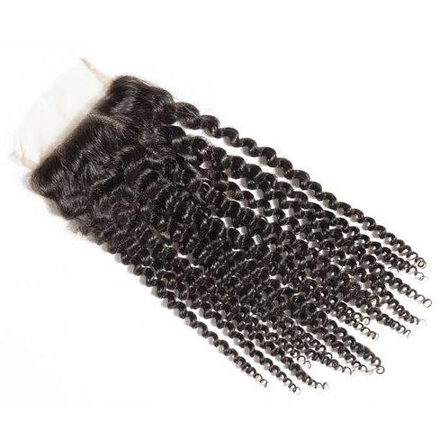 Kinky Curly Lace Closure 4X4