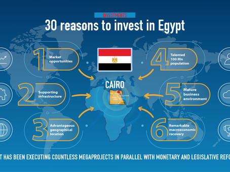 30 reasons to invest in Egypt