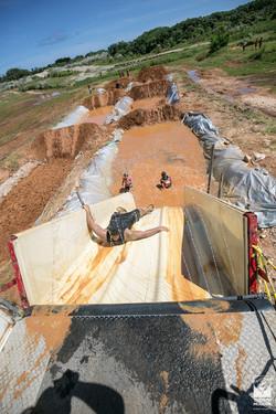 Trench Mudder Slide