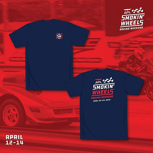 APL Smokin' Wheels 2019 Event Shirt