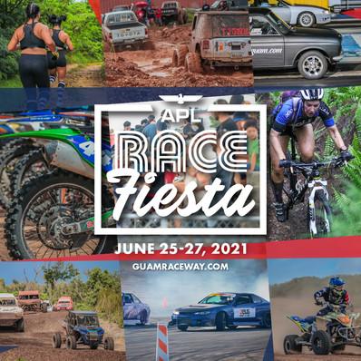 2021 APL Race Fiesta Graphic