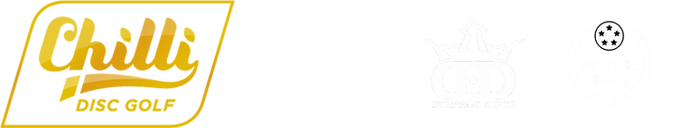 Chilli Disc Golf, Latitude 64, Dynamic Discs, Westside Discs, Logo