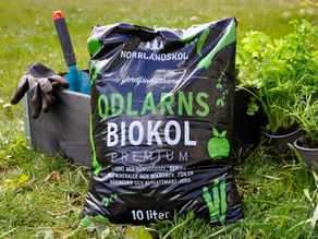 Förpackningsdesign Odlarns Biokol