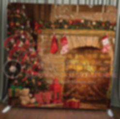 Holiday Fire Place Pillowcase