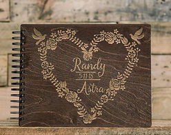 Custm Wooden Photo booth scrapbook