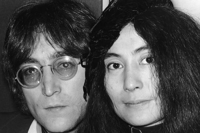 John Lennon e Yoko Ono, 1971 (Hulton Archive/Getty Images)