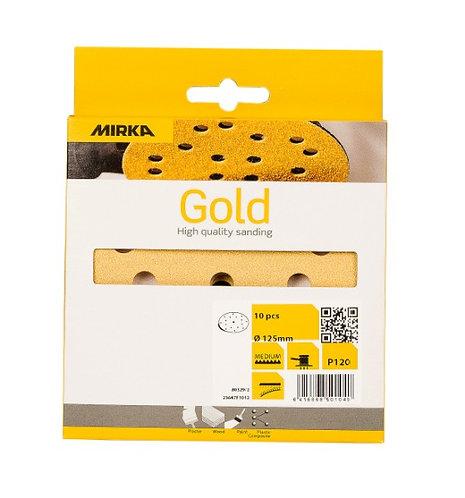 Mirka Gold deco Ø150 15g pak van 10 schijven