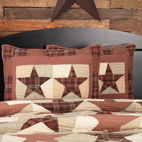 VHC Country Primitive ABILENE STAR Pillow SHAM