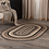 Thumbnail: COUNTRY PRIMITIVE SAWYER MILL CHARCOAL JUTE OVAL RUG