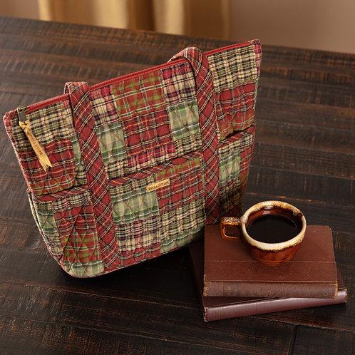 Bella Taylor Patchwork GATLINBURG STRIDE Handbag+ FREE WRISTLET WALLET