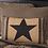 Thumbnail: COUNTRY PRIMITIVE BLACK CHECK STAR PATCH PILLOW 14X22