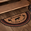 Thumbnail: CUMBERLAND STENCILED MOOSE JUTE RUG WELCOME TO THE CABIN