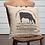 Thumbnail: Farmhouse Primitive VHC Sawyer Mills Cow Pillow