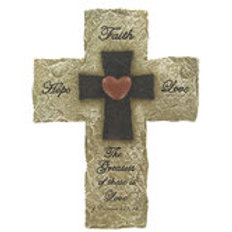 1 Corinthians 13:13 Wall Cross