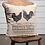 Thumbnail: Farmhouse Primitive VHC Sawyer Mills Chicken Rooster Pillow