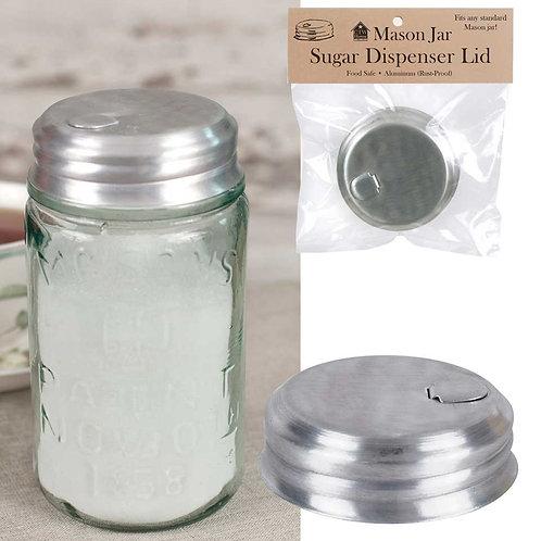 Farmhouse Country Mason Jar Sugar Dispenser Lid
