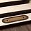 Thumbnail: TROPHY MOUNT DEER JUTE STAIR TREAD OVAL LATEX 8.5X27