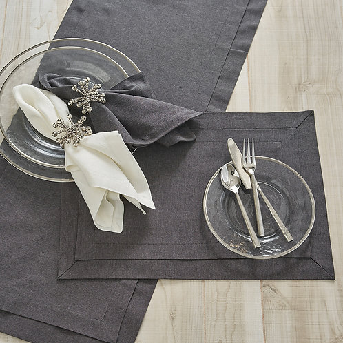 Split-P TAILORED TABLE COLLECTION  SLATE