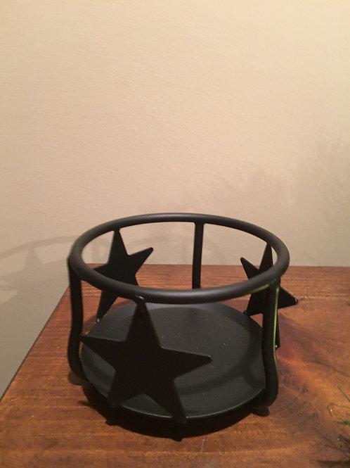 Wrought Iron Jar Candle Holder