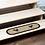 Thumbnail: SAWYER MILL CHARCOAL CHICKEN JUTE STAIR TREAD OVAL LATEX 8.5X27